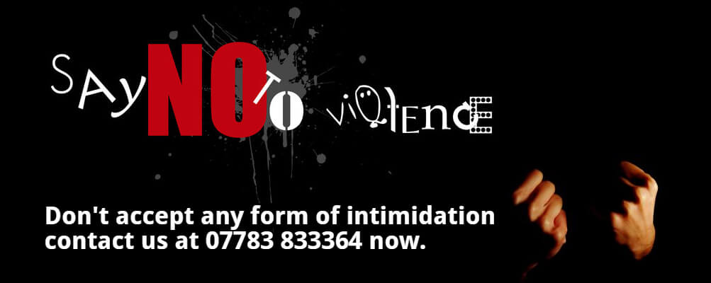 Say No to Violence